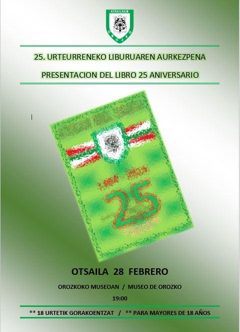 Presentación Libro 25